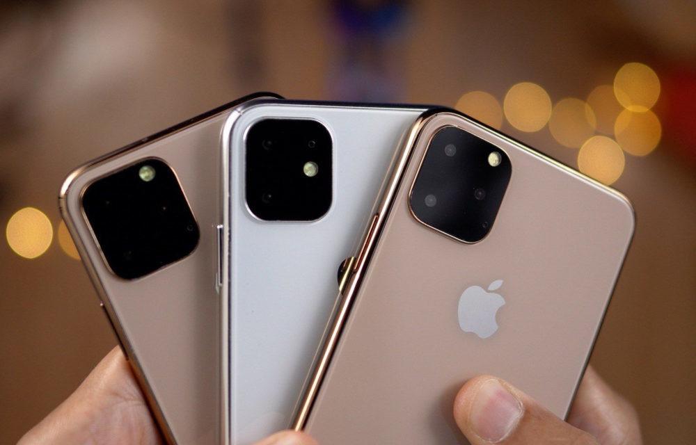 Maquettes iPhone 2019 1000x640 Les iPhone de 2020 seraient équipés de capteurs 3D de temps de vol à larrière