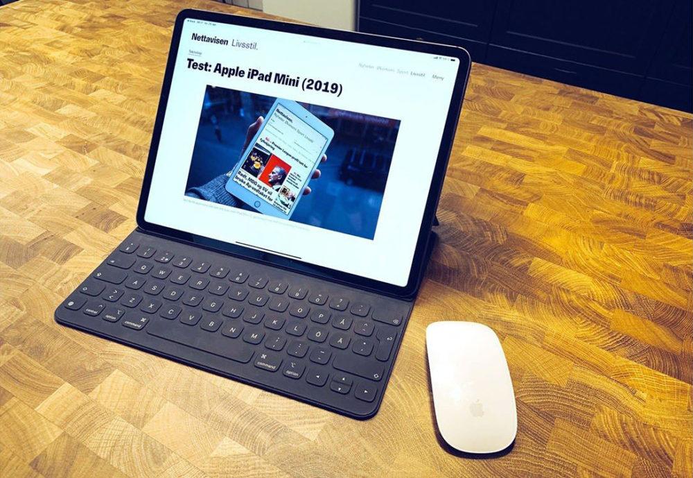 Utiliser Souris Sur iPad 1000x689 LiPad gagne du terrain alors que le marché de la tablette est en baisse