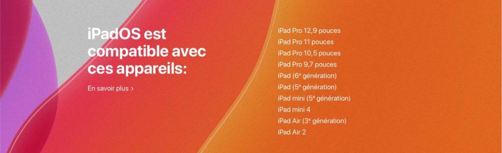 appareils compatible ipados Comment télécharger et installer la bêta iOS 13 sur son iPhone