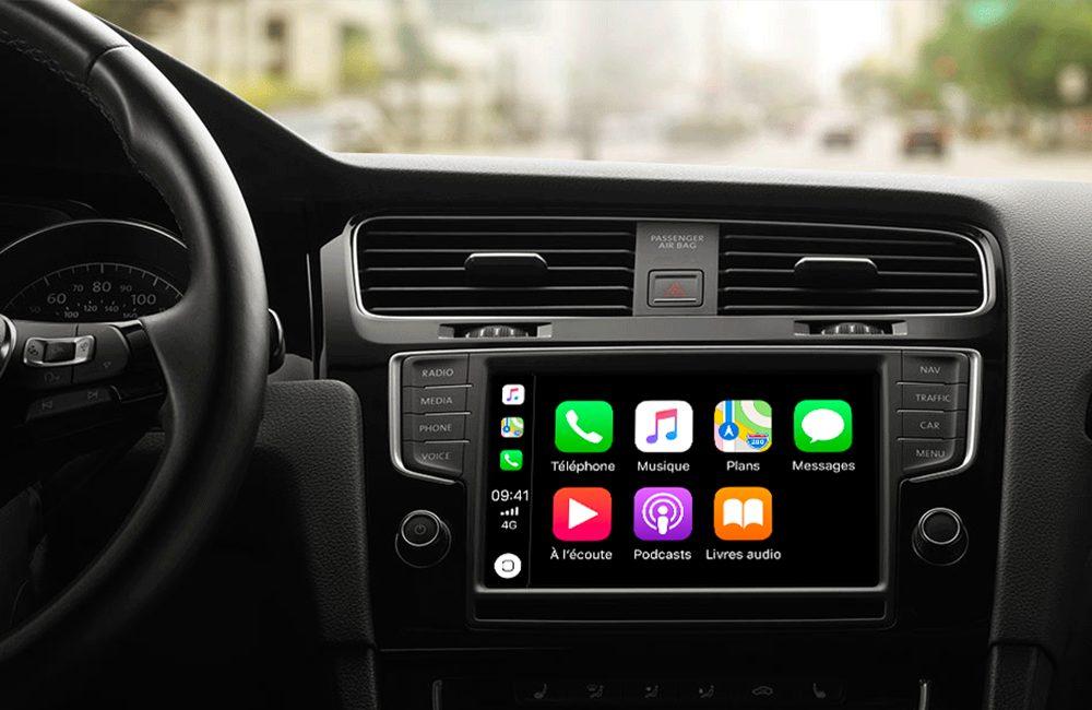 carplay CarPlay et les applications de navigation compatibles