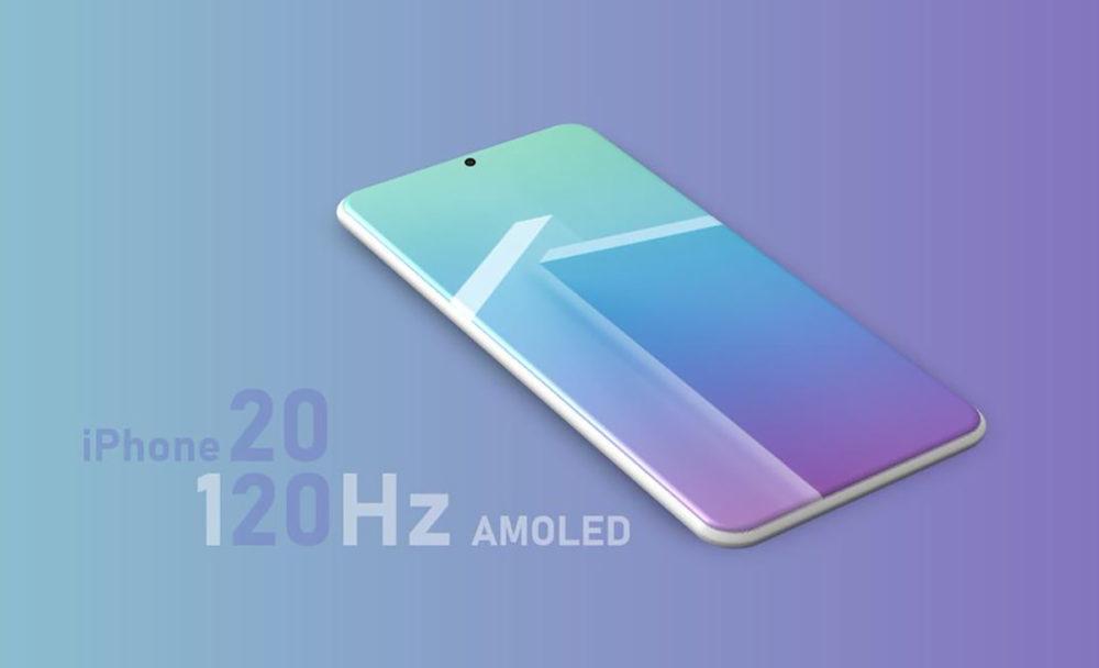 iPhone 2020 Ecran Pro Motion 1000x608 iPhone 13 120 Hz : la ligne Samsung qui produit des écrans OLED pour Apple va fabriquer lécran LTPO