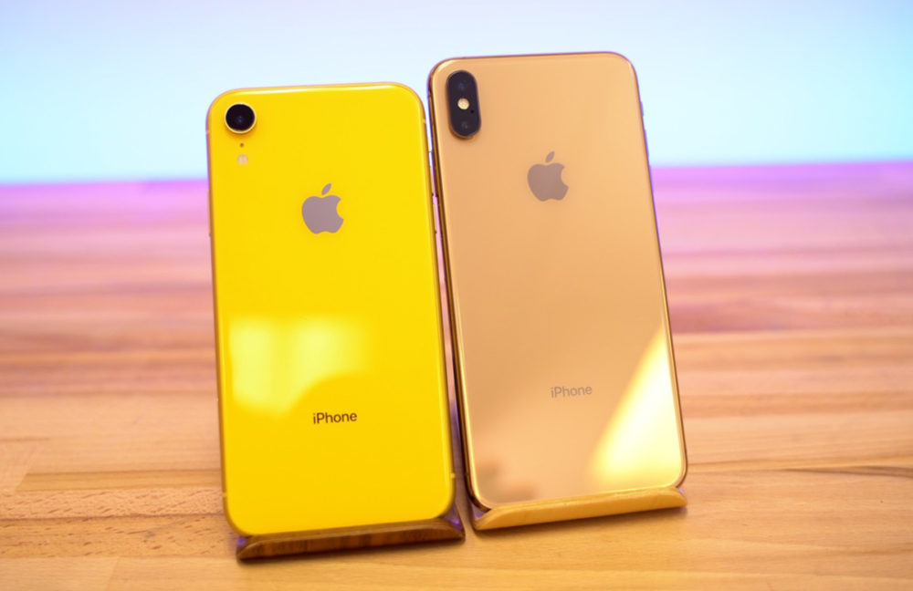 iPhone XR Jaune vs iPhone XS Max Or 1000x648 Les iPhone XS et XR estampillés Made in India arriveront au mois daoût