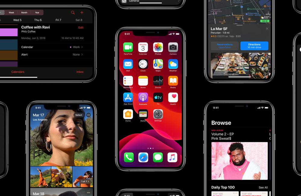 ios13 date de sortie Dates de sortie d'iOS 13, iPad OS et leurs bêtas