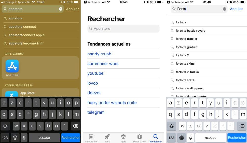 iphone chercher fortnite appstore Comment installer Fortnite sur son iPhone ou iPad