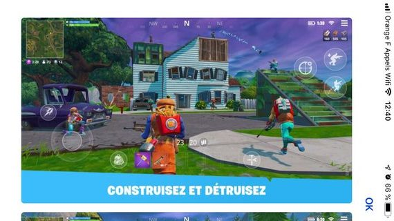iphone fortnite creatif e1562323622388 Comment installer Fortnite sur son iPhone ou iPad