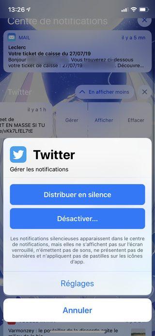 iphone gerer notifications Les nouveautés majeures apportées par iOS 12