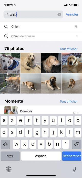 iphone photos Les nouveautés majeures apportées par iOS 12