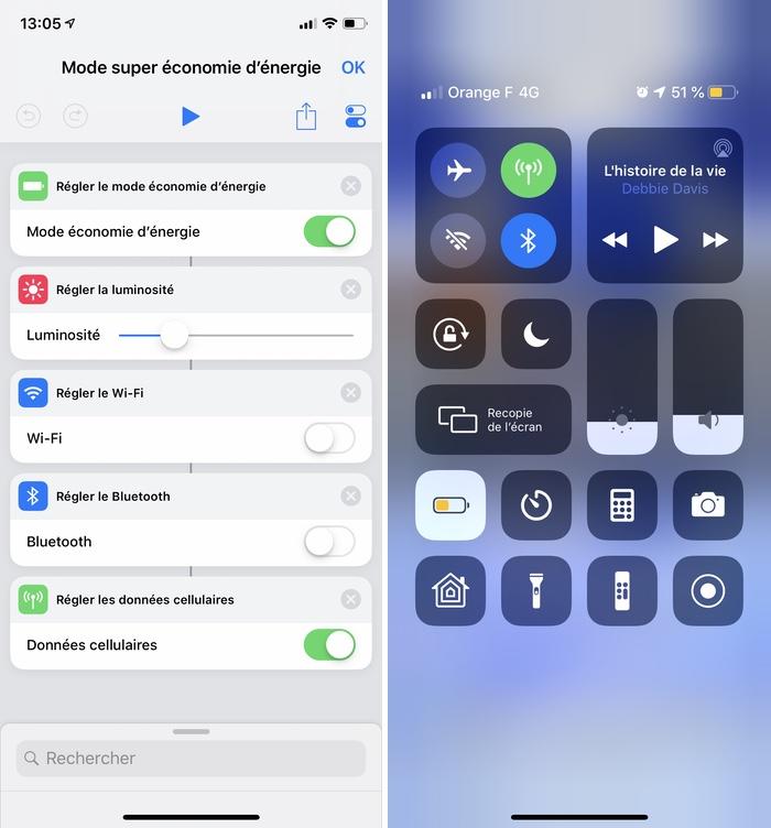 iphone raccourcis super economie Les raccourcis iOS à connaître pour un meilleur usage de son iPhone