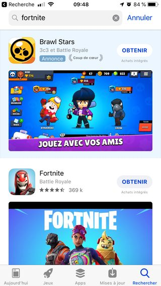 iphone trouver fortnite appstore Comment installer Fortnite sur son iPhone ou iPad