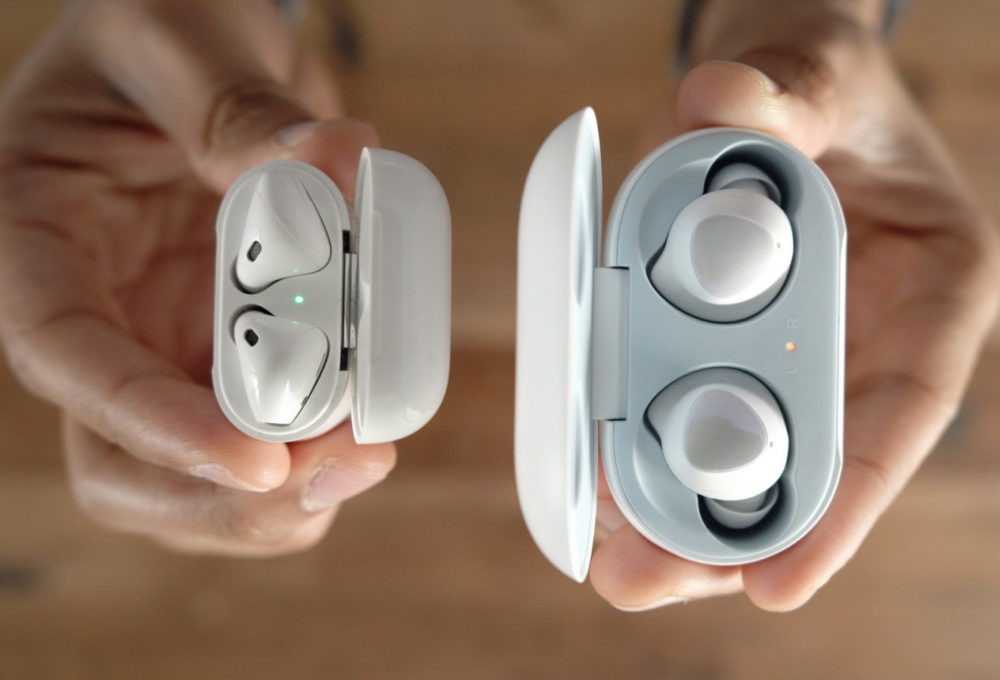 AirPods Galaxy Buds 1000x680 AirPods vs Galaxy Buds : Consumer Reports déclare que le second fait mieux