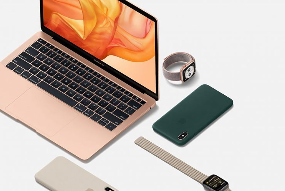 MacBook Air 2018 Apple Watch 4 iPhone XS 1000x670 Les résultats financiers dApple pour le Q4 2019 sont annoncés : liPhone est toujours en baisse