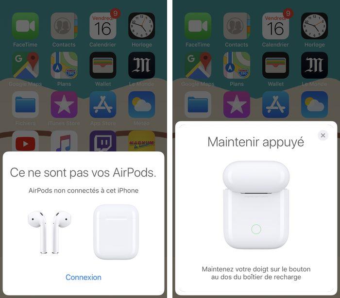 airpods nouvel iphone Comment connecter et configurer vos AirPods 2 sur votre iPhone, iPad et Mac