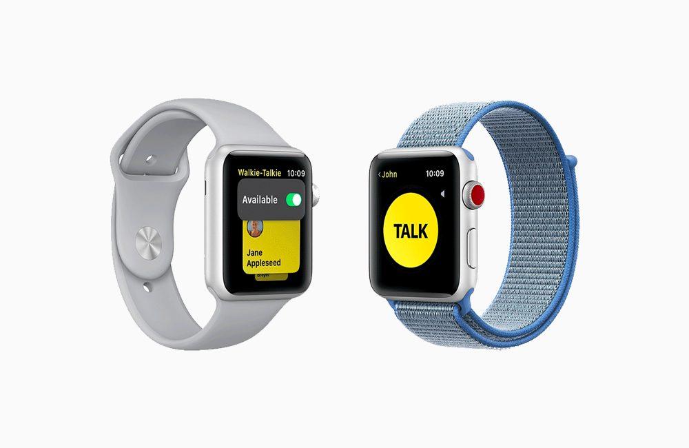 apple watch Talkie walkie Comment utiliser le Talkie walkie sur son Apple Watch