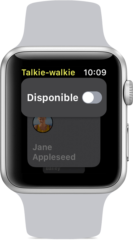 apple watch talkie walkie disponible Comment utiliser le Talkie walkie sur son Apple Watch