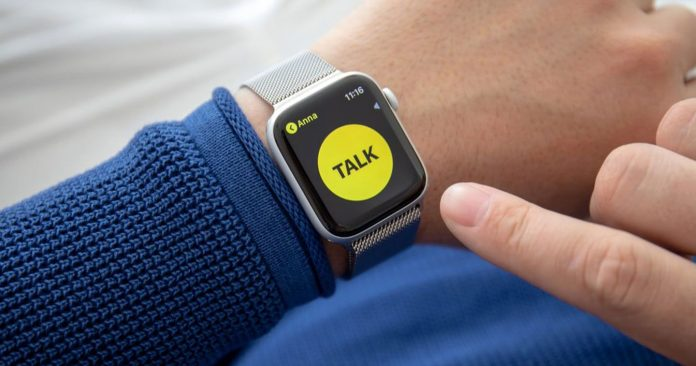 Comment utiliser le Talkie walkie sur son Apple Watch