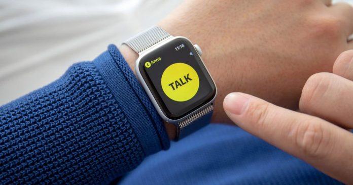 Comment utiliser le Talkie walkie sur son Apple Watch