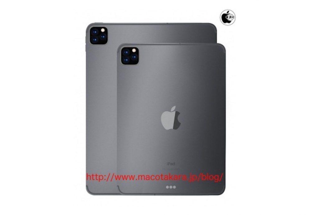 iPad Pro 2019 Capteurs Photo 1000x692 2 capteurs photo sur liPad 10,2 pouces et 3 sur liPad Pro 2019