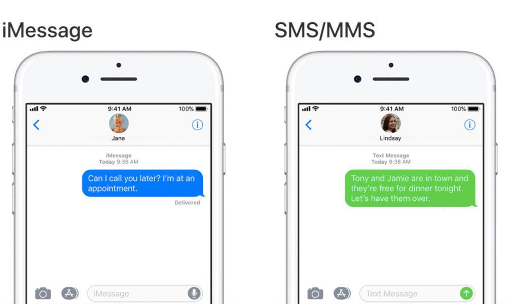 imessage text message 1000x600 iMessage : Samsung ridiculise les bulles bleues dans les conversations