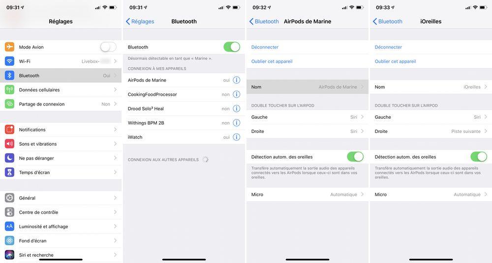 iphone configurer airpods Comment connecter et configurer vos AirPods 2 sur votre iPhone, iPad et Mac