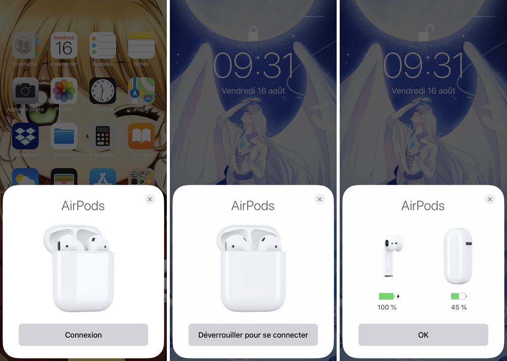 iphone jumelage airpods Comment connecter et configurer vos AirPods 2 sur votre iPhone, iPad et Mac
