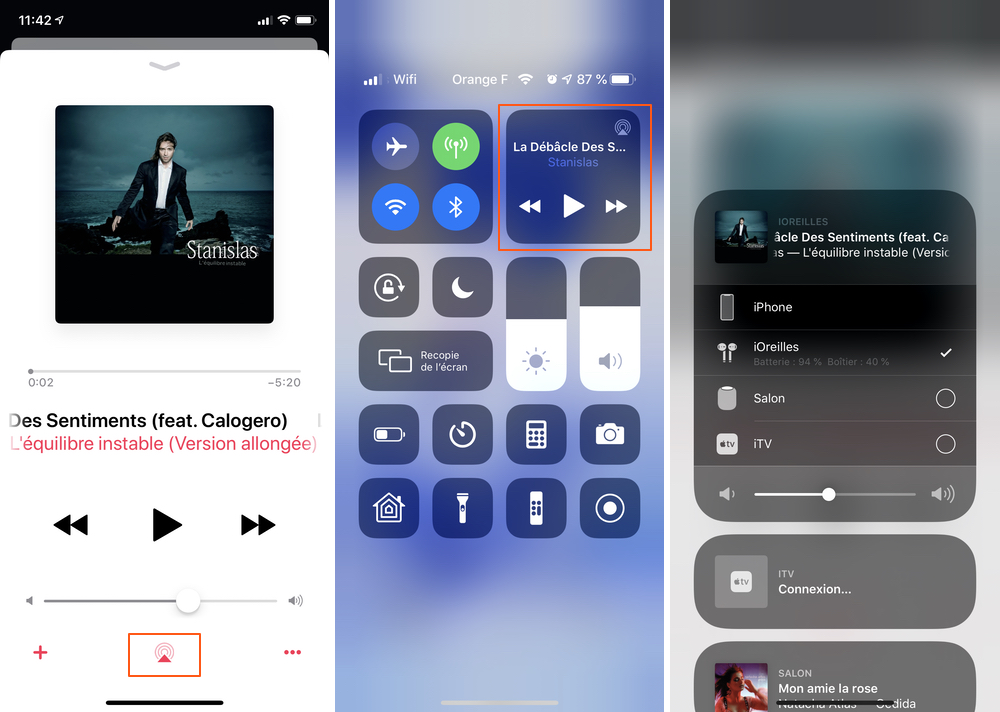 iphone lecteur affiche batterie airpods Comment connecter et configurer vos AirPods 2 sur votre iPhone, iPad et Mac