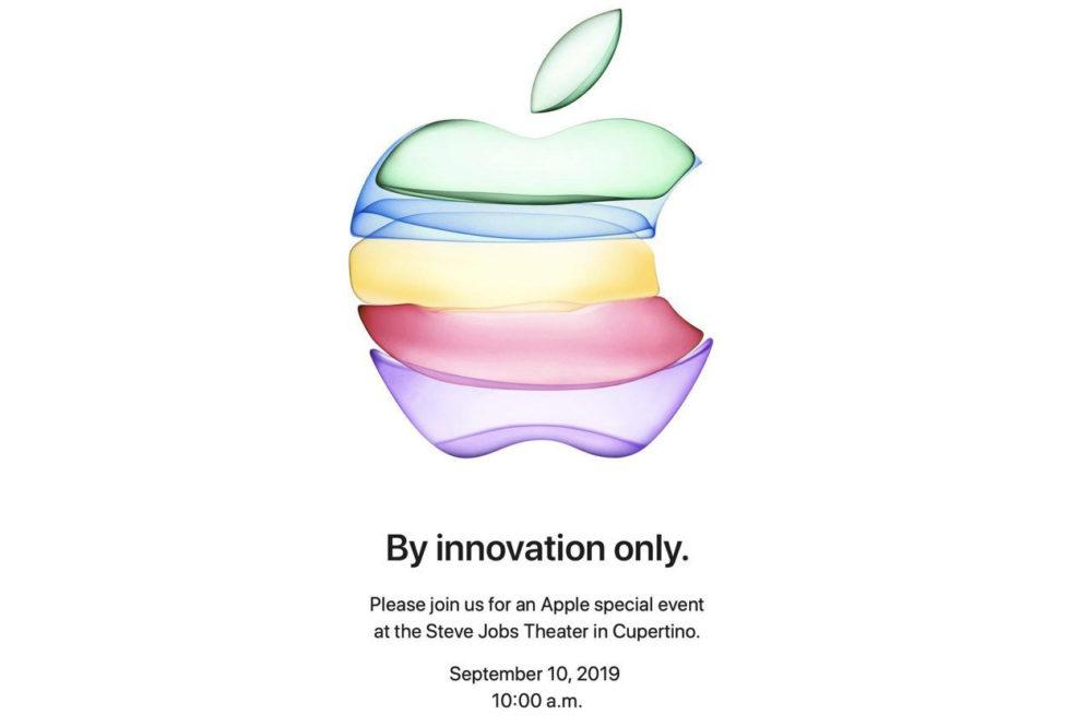 keynote sept 2019 Les iPhone 2019 présentés au keynote du 10 septembre