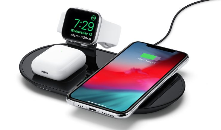 mophie 3 in 1 wireless charging pad equivalent airpower 1 Apple vend un analogue du AirPower qui peut recharger jusquà 3 appareils simultanément