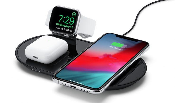 mophie 3 in 1 wireless charging pad equivalent airpower 1 Apple vend un analogue du AirPower qui peut recharger jusquà 3 appareils simultanément
