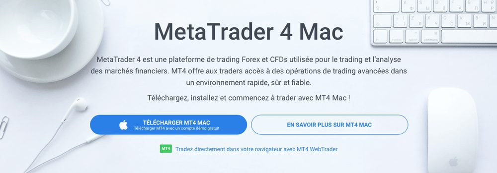 telecharger mt4 mac Comment installer MetaTrader 4 sur Mac
