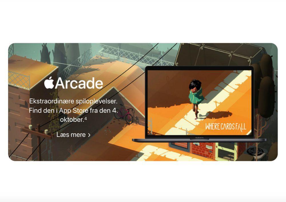 Apple Arcade Apple Website macOS Catalina Date sortie Octobre 1000x705 Le site web danois dApple suggère que macOS Catalina sera publié le 4 octobre
