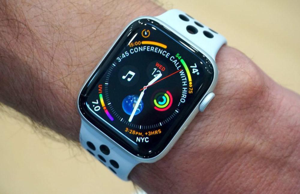 Apple Watch Series 4 watchOS 5 1000x646 watchOS 5.3.2 est disponible sur les Apple Watch Series 1 et Series 2