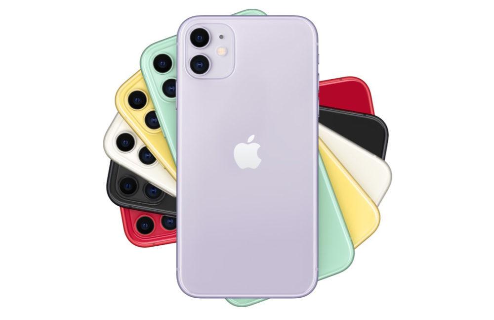 Apple iPhone 11 1000x647 LiPhone 11 est présenté : nouveaux coloris, double capteur photo avec mode nuit, prix etc.