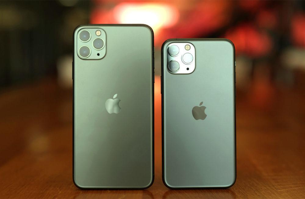 Apple iPhone 11 Pro et Pro Max 1000x653 iPhone 11 et iPhone 11 Pro : les détails sur la RAM et la batterie sont dévoilés ?