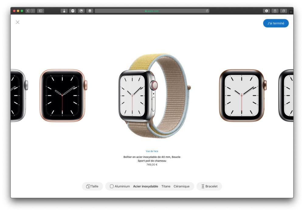 apple watch series 5 creer style LApple Watch Series 5 donne lheure en permanence !