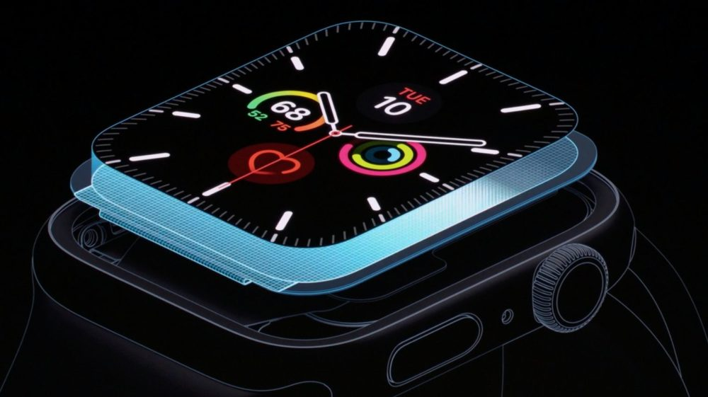 apple watch series 5 ltpo LApple Watch Series 5 donne lheure en permanence !