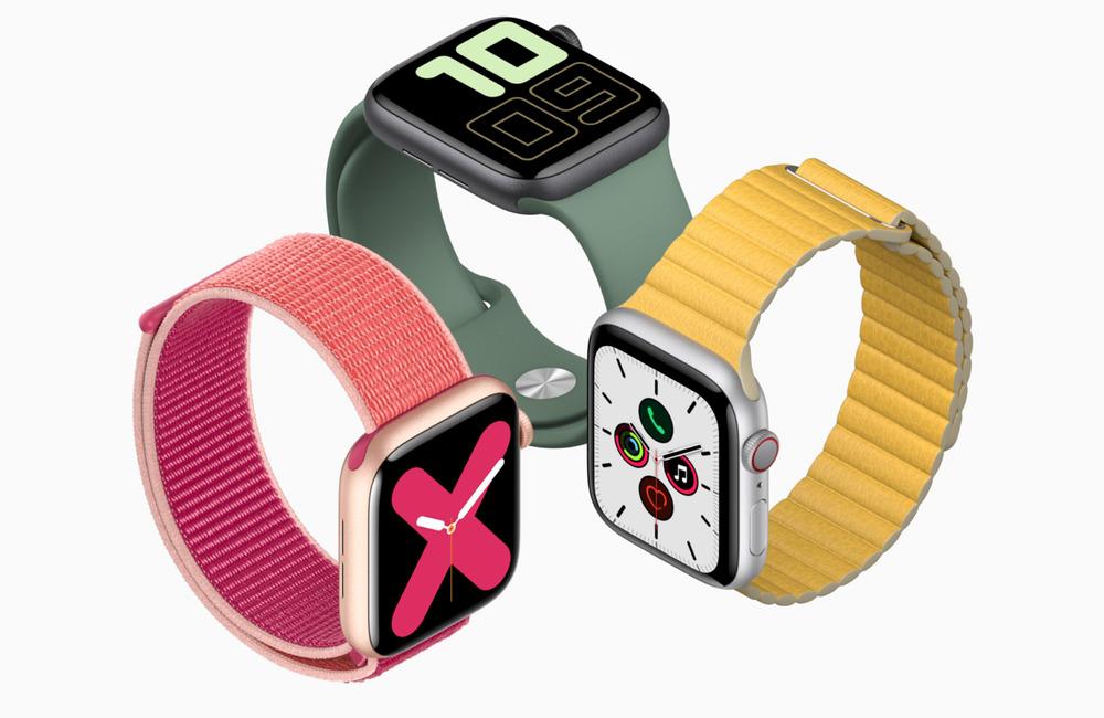 apple watch series 5 LApple Watch Series 5 donne lheure en permanence !