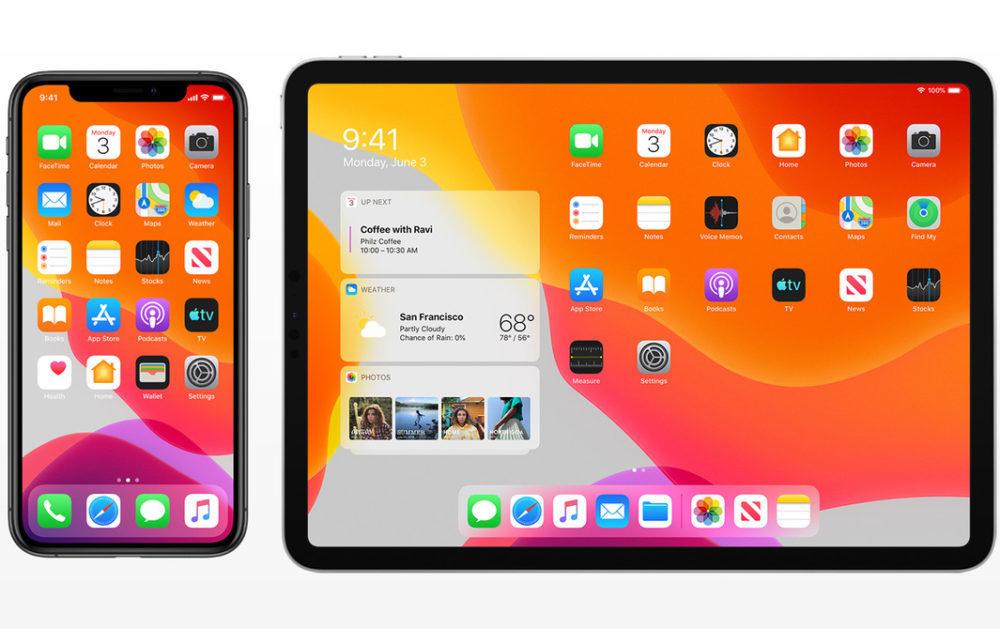 iOS 13 iPadOS 13 1000x629 iOS 13.3 bêta 1 et iPadOS 13.3 bêta 1 sont disponibles