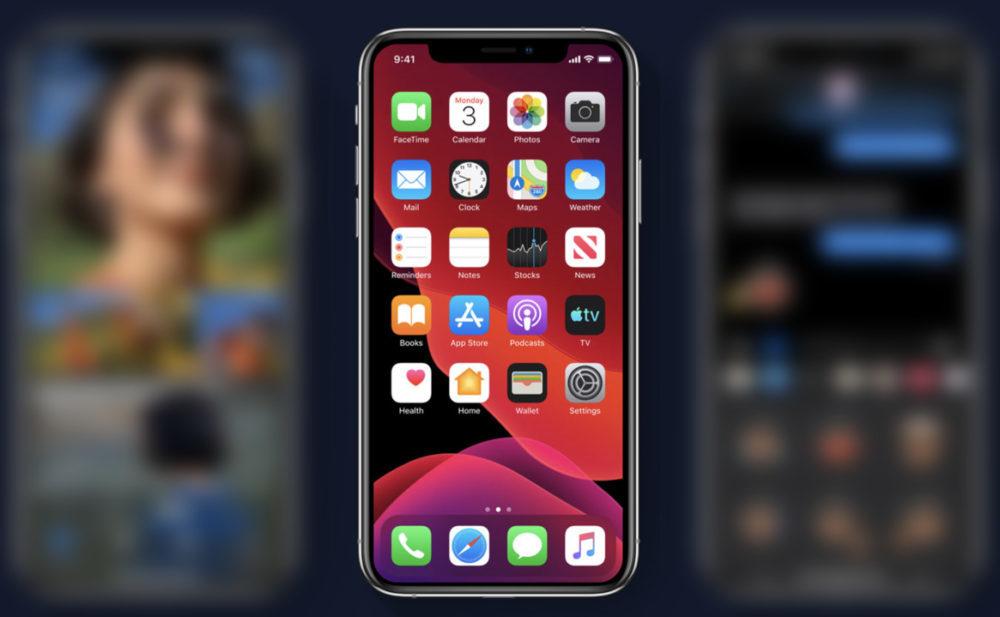 iOS 13 wallpaper 1000x617 iOS 13.1 est disponible au téléchargement sur iPhone et iPod touch