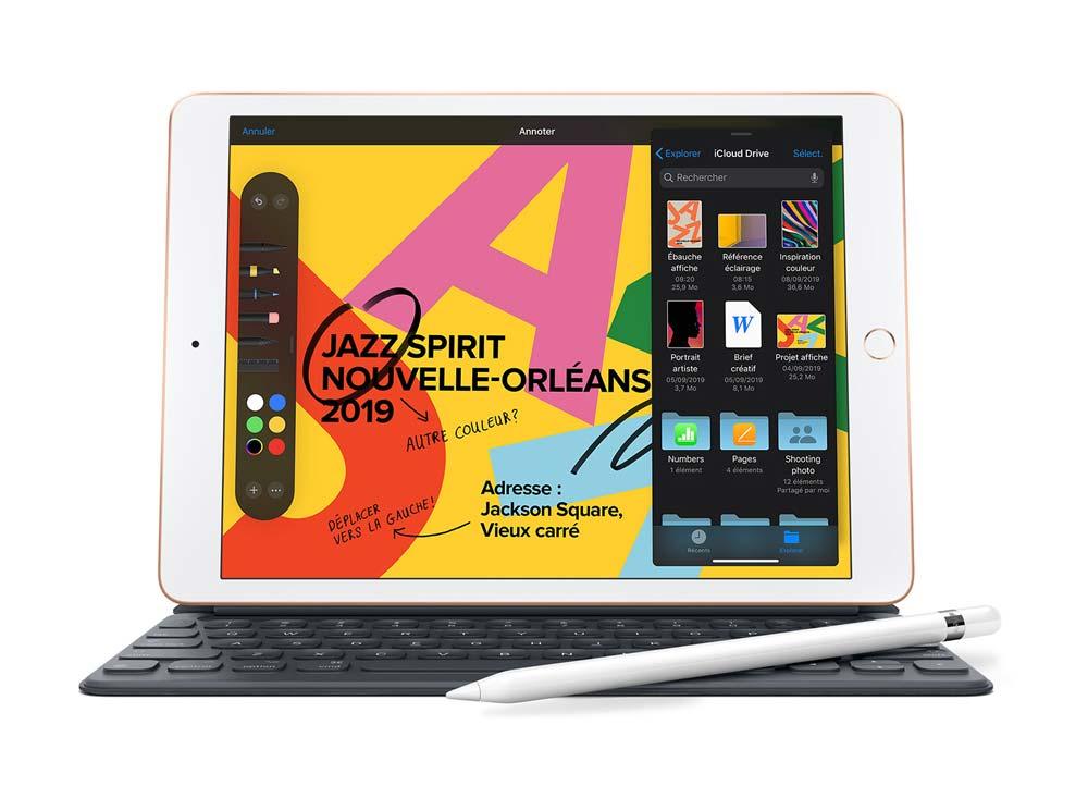 iPad 2019 Découvrez le nouvel iPad 7ème génération 10,2 pouces (modèle 2019)