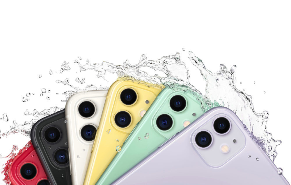 iPhone 11 Eau 1000x638 Inde : le lancement de liPhone 11 est sans bavure et rappelle la popularité de liPhone 6