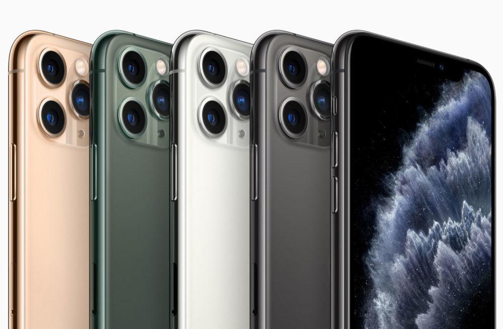 iPhone 11 Pro Max 1000x654 iPhone 11 Pro et iPhone 11 Pro Max : 3 capteurs photo, nouvelles couleurs, écran Super Retina XDR, plus