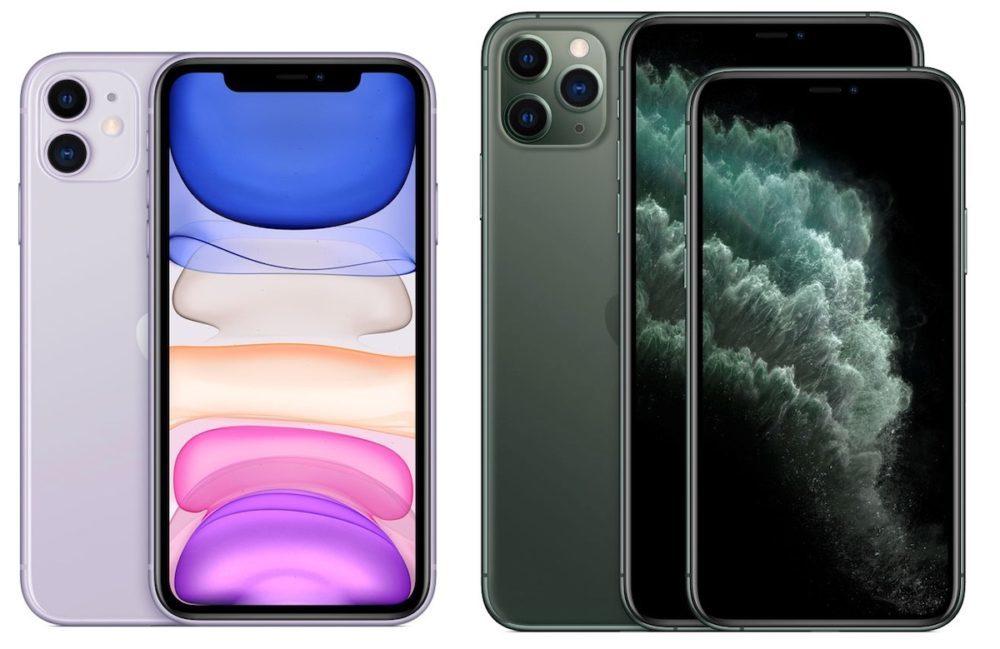 iPhone 11 iPhone 11 Pro Max 1000x649 iPhone 11 et 11 Pro : la demande est supérieure aux attentes et les nouveaux coloris sont très appréciés