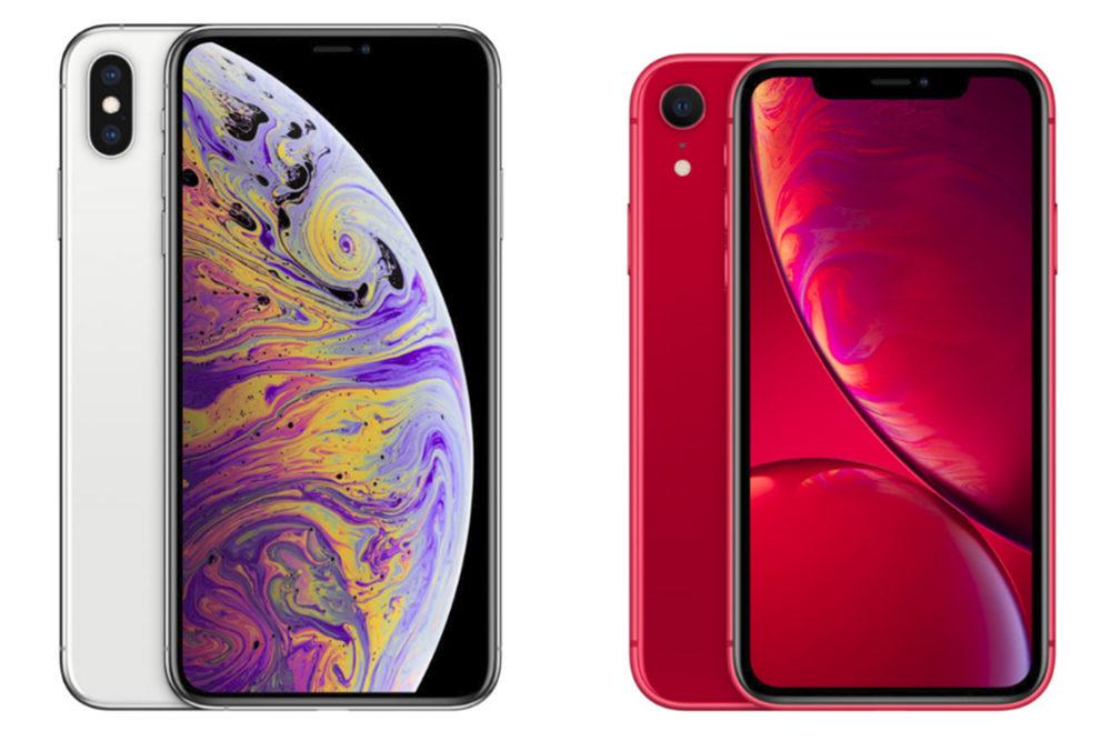 iPhone XS iPhone XR 1000x667 Baisse du prix des iPhone 8/8 Plus/XR et clap de fin pour les iPhone 7/7 Plus/XS/XS Max
