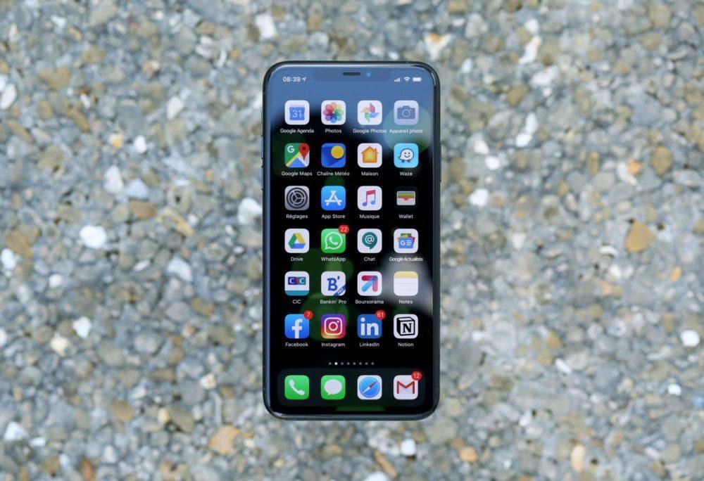 iphone 11 pro max apple 1000x684 LiPhone 11 Pro Max dispose dun meilleur écran que les autres smartphones