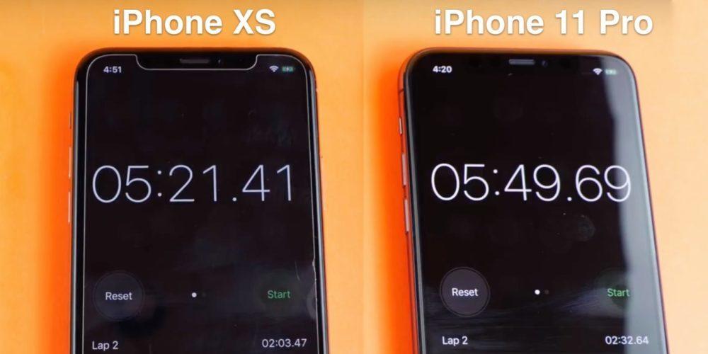 iphone 11 pro speed test 1000x500 L'iPhone 11 Pro plus rapide que l'iPhone Xs ?