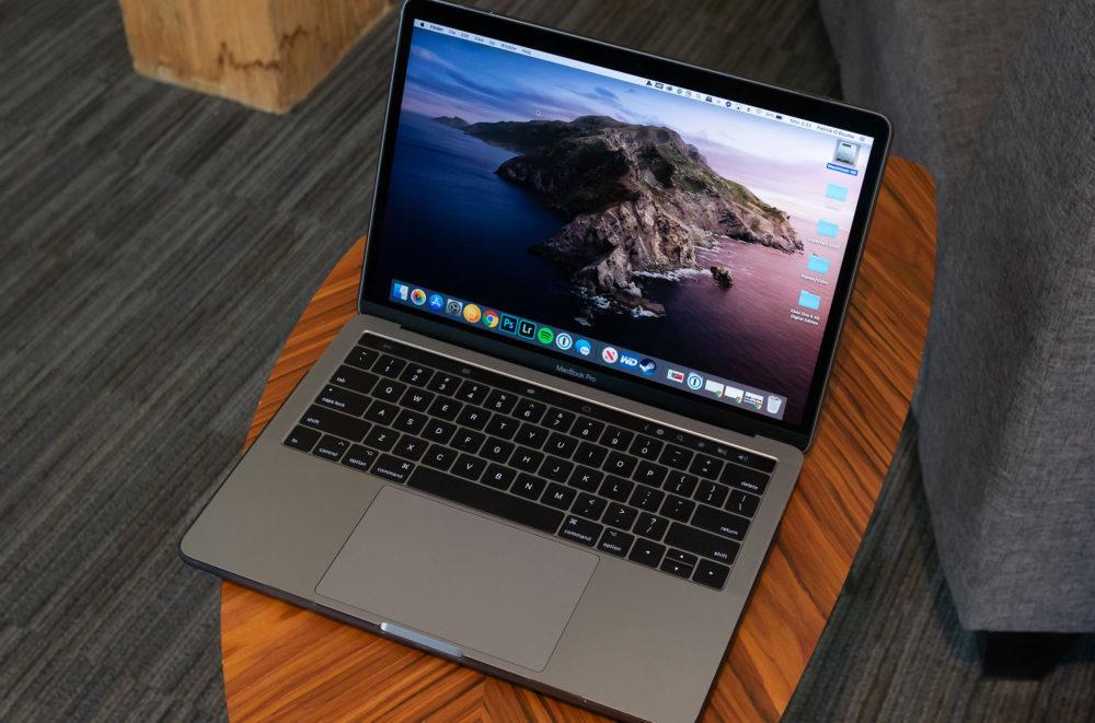 macos catalina macbook pro 1000x661 Si le texte « Aucune charge en cours » saffiche alors que votre Mac est branché, Apple dit que cest normal