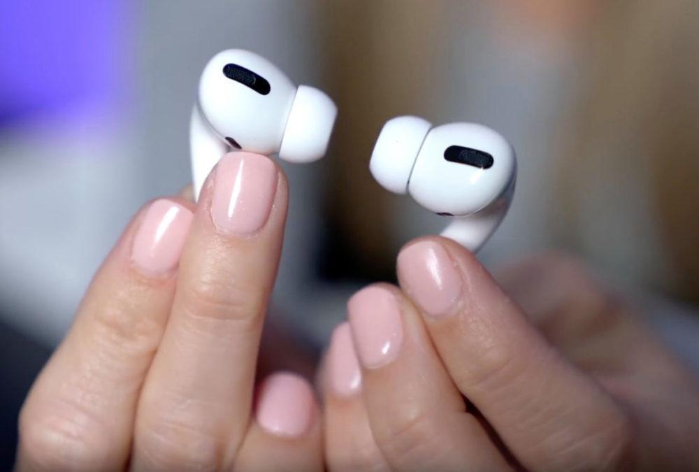 AirPods Pro Impressions 1000x675 Vos AirPods Pro sont sales ? Apple explique comment les faire briller à nouveau