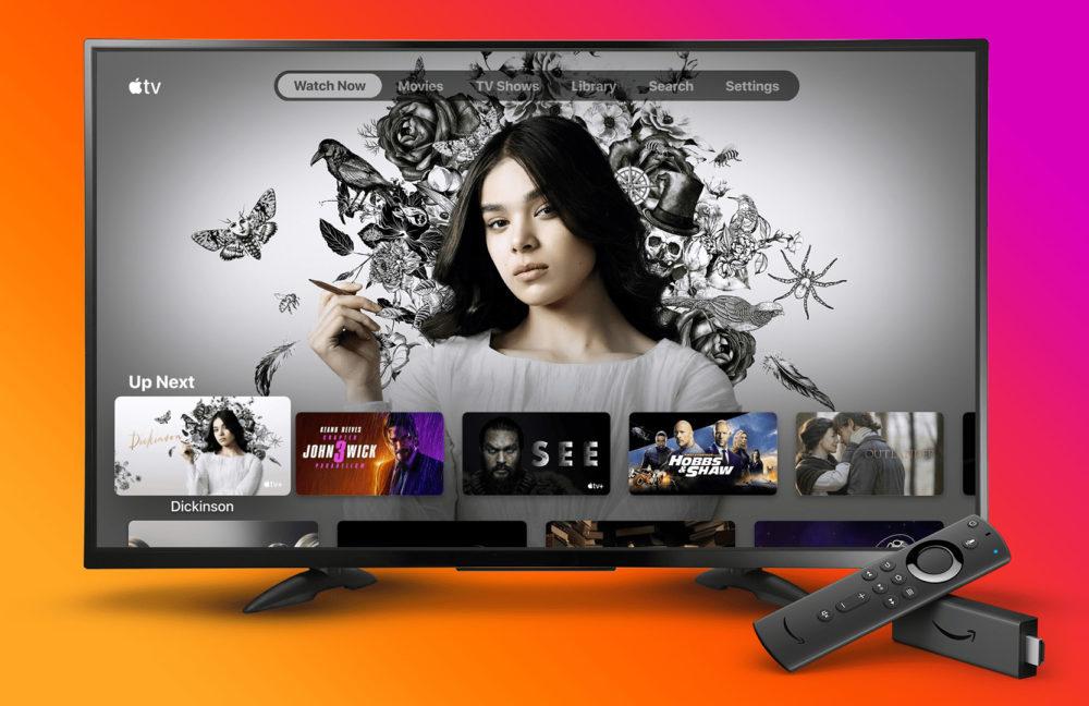 Apple TV Sur Amazon TV 1000x648 Apple lance son application Apple TV sur les Fire TV dAmazon