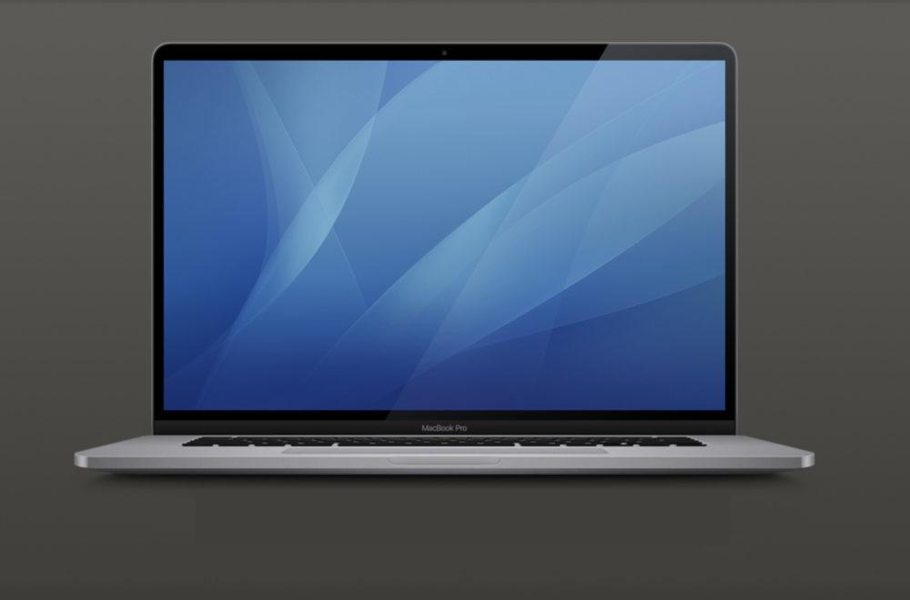 MacBook Pro 16 pouces macOS 10.15.1 Design 1000x660 On connaît le design du MacBook Pro 16 pouces, merci à macOS 10.15.1