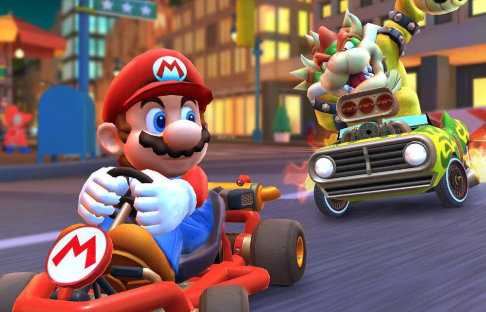 Mario Kart Tour iPhone 1000x642 Mario Kart Tour : une semaine après sa sortie, déjà 90 millions de téléchargements